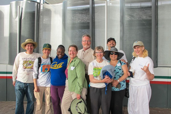 The All Saints Group Arrives in Mexico
