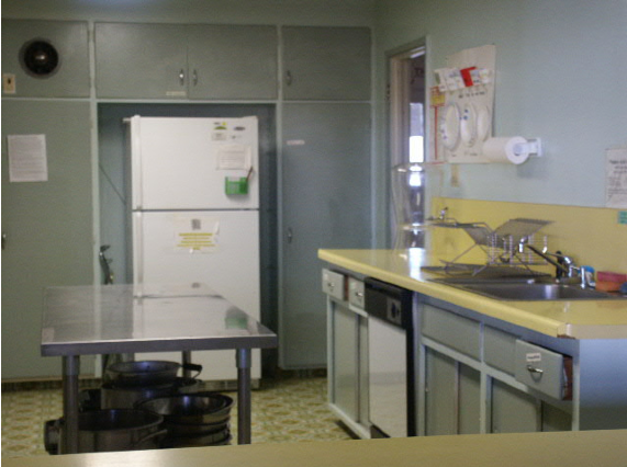 PHoto of the Kitchen at All Saints