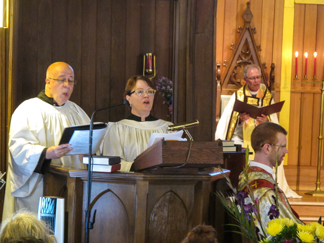 The Psalm with Cantors Thomas LaFrance & Mary Nelson