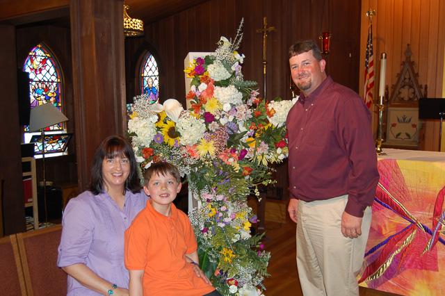 The Cross, Flowered
